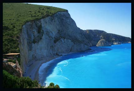 Beautiful Images Of Greece. A eautiful beach in Greece
